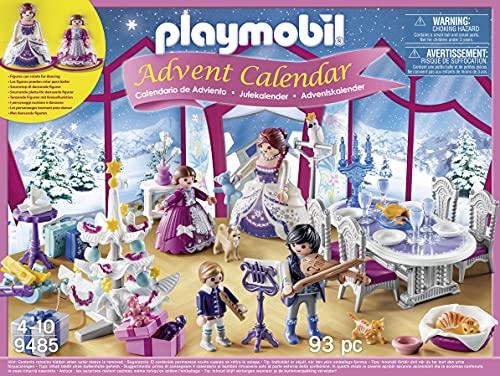 Playmobil - Calendrier de l'Avent Bal de Noël Salon de Cristal - 9485