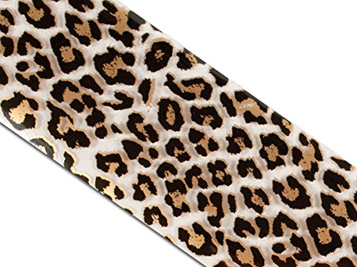 Nailart Transferfolie Chromfolie Leopard Design