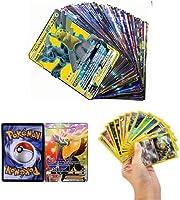 Zhybac Poke Card Trading Card 100 Tarjetas GX Completas, 100 Tarjetas, Divertidas Tarjetas Flash,Tarjetas GX Tag...