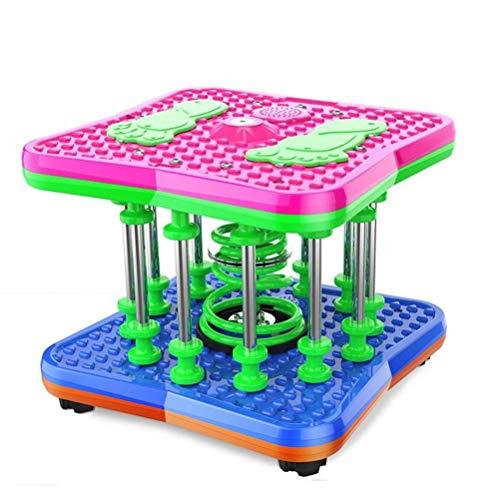 Lichtgewicht Twisting Taille Machine, Entertainment Afslanken Shape Twist Dancing Machine, Non-slip Safety Platform fitnessapparatuur Rotating Plate (Color : 13-post support bar)