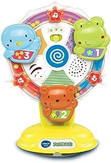 Vtech 伟易达 欢乐摩天轮婴幼儿宝宝益智早教玩具 音乐灯光6-18个月(80-165918)