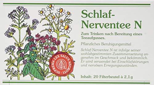 Abtswinder Naturheilmittel Schlaf-Nerventee N Filterbeutel, 70 g