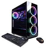 CYBERPOWERPC Gamer Master Gaming PC, AMD Ryzen 3 3100 3.6GHz, 8GB DDR4, Radeon RX 550 2GB, 240GB SSD, 2TB HDD, WiFi Ready & Win 10 Home(GMA888A5)