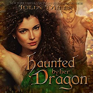 Haunted by Her Dragon audiobook cover art