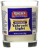 Rokeach Memorial Yahrzeit Tumbler, 1-count (Pack of 24)