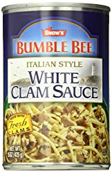 Best white clam sauce in a can