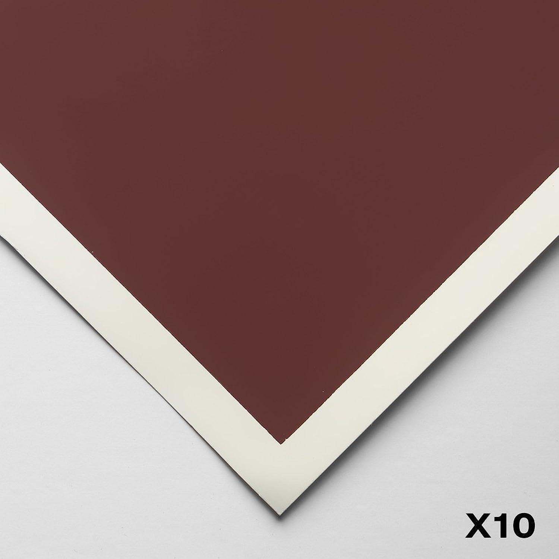 Art Spectrum   Colourfix Smooth   Pastel Paper   50x70cm   Burgundy   Pack of 10