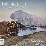Lokomotiven Legendary Trains 2021 - Broschürenkalender - Wandkalender - mit Schulferientabelle und Jahresübersicht 2021 - Format 30 x 30 cm