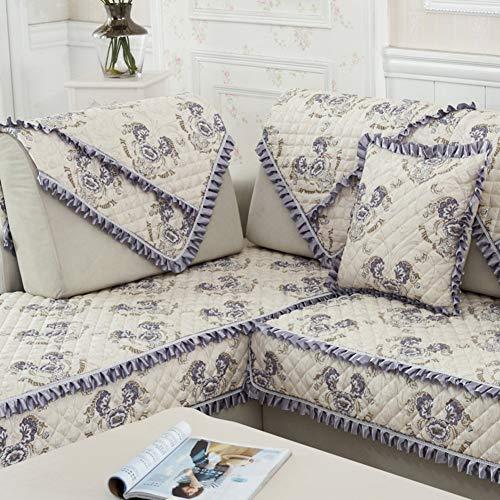 WTT stof van de vier seizoenen/sofakussens/algemene sofa handdoek/Europese stijl slip sofa handdoek/eenvoudige en moderne bank Cover-B 70x70cm (28x28inch)