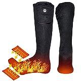 BARCHI HEAT 7.4V 2200MAH Calcetines con calefacción, batería Recargable eléctrica Calcetines con calefacción Calcetines para los Deportes de Invierno Motociclismo Esquí