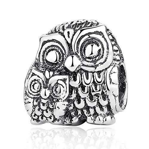 PANDOCCI Perle d'argento europee di autunno d'argento di fascino Argento sterlina originale 925 misura i monili di fascini di DIY del braccialetto & della collana di Pandora