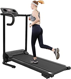 LALALY Electric Folding Treadmill Auto Incline Running Machine, Smart Walking Running Machine with Blueteeth Audio Speakers Pre-Set Training Programs for Indoor Exercise Workout Physical Training