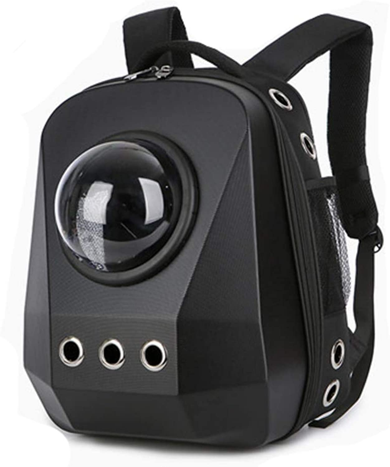 Backpack Space Capsule Portable Waterproof Breathable Suitable for Cats Within 8 kg, Dogs Within 6 kg Outdoor Travel Walking