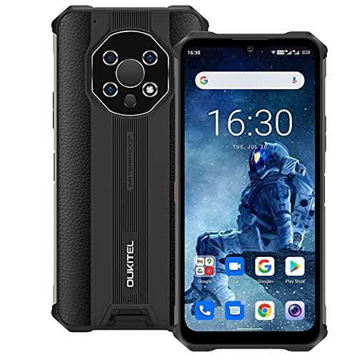 5G Rugged Smartphone, OUKITEL WP13 Telefono Resistente, 6,52   Schermo, 8GB+128GB Octa-core, 48MP Fotocamera Android 11 Cellulari Offerte, 5280mAh Batteria,IP68 Dual SIM Telefono Cellulare, NFC, Nero