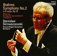 BRAHMS: SYMPHONY NO.2(SACD) by STANISLAW SKROWACZEWSKI (2008-01-23)