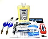 * Kit de purga de freno hidráulico TBS para AVID + DOT 5.1 Fluid * Juicy Elixir Code #3
