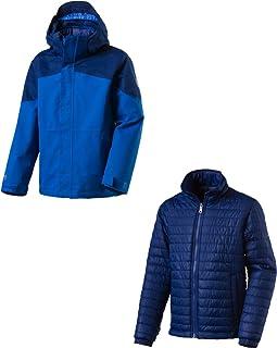 (ANTHRA/BLACK/LIME/LI, 164 (EU)) - McKinley K Aman Children's Double Jacket