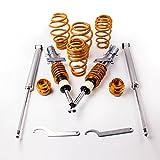 maXpeedingrods Ammortizzatore Suspension Coilovers per Polo MK4 9N Fabia Mk1 MK2