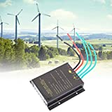 Nannday 【𝐒𝐞𝐦𝐚𝐧𝐚 𝐒𝐚𝐧𝐭𝐚】 Controlador de Carga de Viento, 48V Controlador de turbina eólica Impermeable Controlador de Carga MPPT Regulador de energía eólica 800W