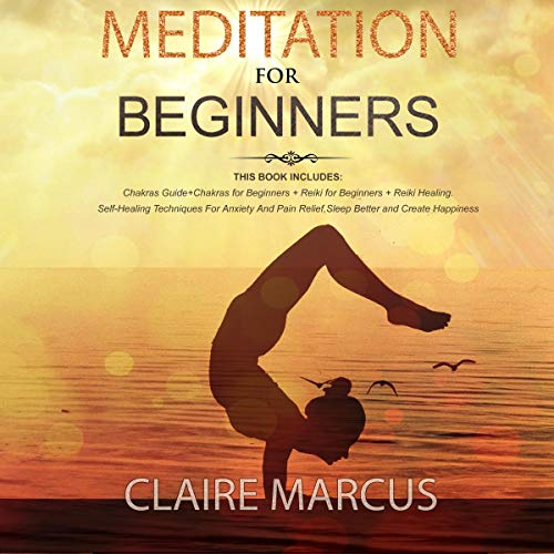 Meditation for Beginners: 4 Books in 1 audiobook cover art