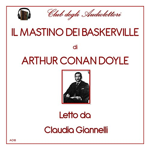 Il mastino dei Baskerville [The Hound of Baskervilles] audiobook cover art