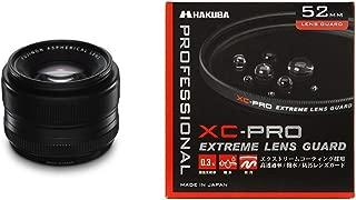 FUJIFILM 単焦点標準レンズ XF35mmF1.4 R & HAKUBA 52mm レンズフィルター XC-PRO 高透過率 撥水防汚 薄枠 日本製 レンズ保護用 CF-XCPRLG52