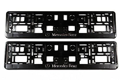 Set 2x Premium Soportes para matrícula kennzeichenhalterung para matrícula nuevo