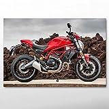 UHvEZ 500pcs_Children's Puzzle Geschenk Rotes Fahrrad Superbike Puzzles aus Holz, Puzzles für...