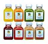 1 Day Juice Cleanse by Julian's Juicebox - Lose Weight, Curve Cravings & Reboot Your System - Great for Kids Too!