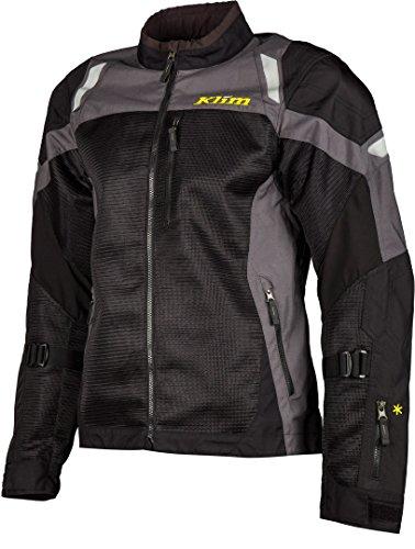 Klim Induction Motorrad Textiljacke Schwarz/Dunkelgrau XL