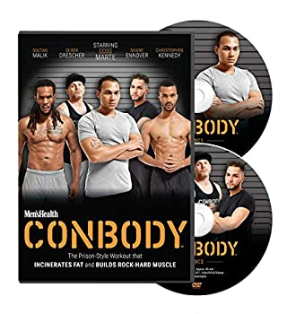 Men s Health CONBODY  The Prison Style Bodyweight Workout That Incinerates Fat and Builds Rock Hard Muscle  2 DVDs