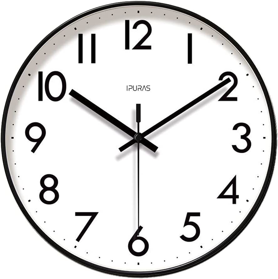 Limited Special Price Wall Clocks Decorative Silent Quartz Directly managed store Read Round Easy