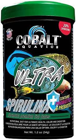 Cobalt Aquatics Ultra Spirulina Flakes 1 2 oz 23061 product image