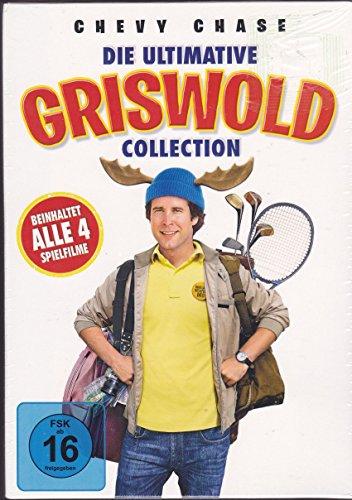 Die ultimative GRISWOLD Collection - 4 Filme [4 DVDs] (Die schrillen Vier auf Achse+Hilfe, die Amis kommen+Schöne Bescherung+Viva Las Vegas)