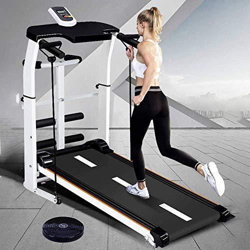 WYZXR Mechanisches Laufband Heimfitnessgeräte Kleine zusammenklappbare Gewichtsabnahme Abnehmen Stumme Laufmaschine Stumme Laufmaschine Sportgeräte