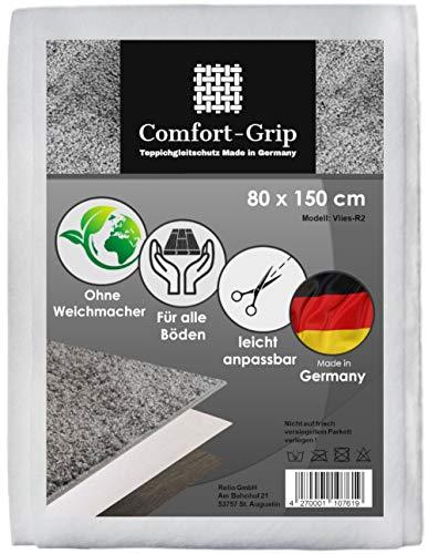 Comfort-Grip Premium Antirutsch Teppichunterlage -OHNE WEICHMACHER-| Rutschhemmendes Vlies | Antirutschmatte | Für Parkett geeignet | Für alle Böden || Anti Rutsch für Teppich