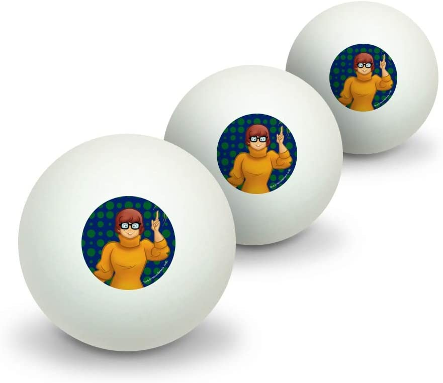 GRAPHICS  MORE Scooby Doo Velma Character Novelty Table Tennis