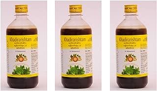 Khadirarishtam - 450ml by AVP Pack of 3