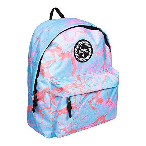 Hype Backpack Bags Rucksacks - School Bag - Many New Colours & Designs (Pastel Marble)