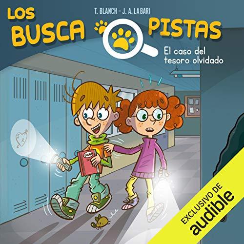 Diseño de la portada del título Buscapistas: El Caso Del Tesoro Olvidado