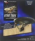 IncrediBuilds: Star Trek: U.S.S. Enterprise Book and 3D Wood Model