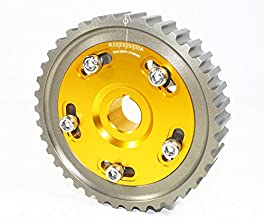 for Honda Civic Del Sol SOHC D16 D15 D13 D Series Engine Adjustable Cam Gear - Gold