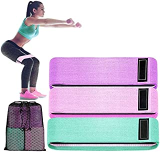 SKY-TOUCH Resistance Bands Fabric,Exercise Bands Non Slip Hip Elastic Bands for Hip, Legs, Butt, Glutes and Thighs Workou...