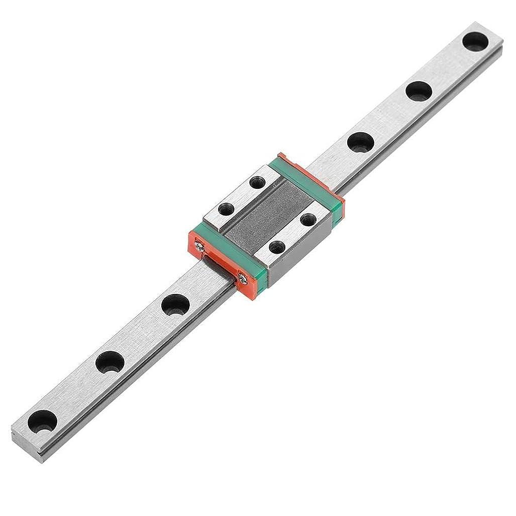 もっと簡潔な抹消1個LML9Bミニチュアリニアモーションレールキャリッジガイドレール9mm幅+スライドブロック(150mm)