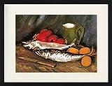 1art1 Vincent Van Gogh - Stillleben Mit Makrelen, Zitronen