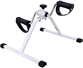 Steppers - Mini Exercise Bike Adjustable Resistance Armchair Pedal Leg Rehab Indoor Cycling Workout Gym Fitness Body Build...
