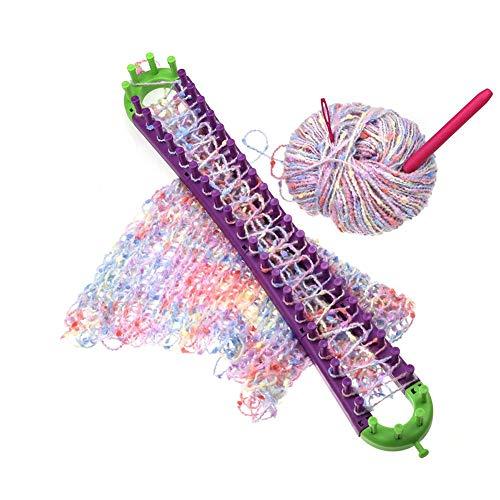Corwar Knitting Loom Strickring Set Strickrahmen Frei Um Verschiedene Formen Zu Formen Knitting Loom Mit Schnallendesign Enthalten Keinen Klebstoff DIY Knitting Loom Für Anfänger Und Effectual