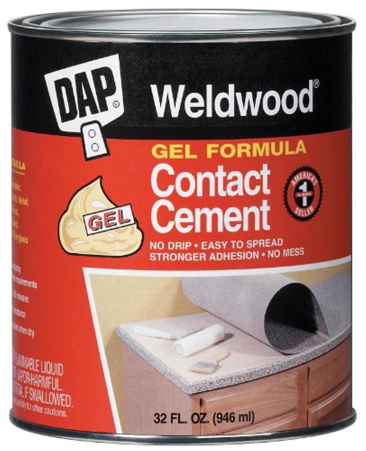 Dap 25312 Weldwood Contact Cement Gel Formula 1-Quart, Model: 25312, Outdoor & Hardware Store