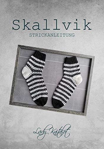 Skallvik: Tolle Socken mit Herzchen einfach gemacht (Schuhgröße 40/41)