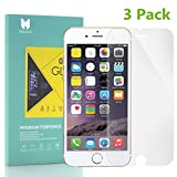 MOUKOU iPhone 8/7 Glass Screen Protector 3-Pack Tempered Glass Screen Protectors for iPhone 8/7 4.7inch
